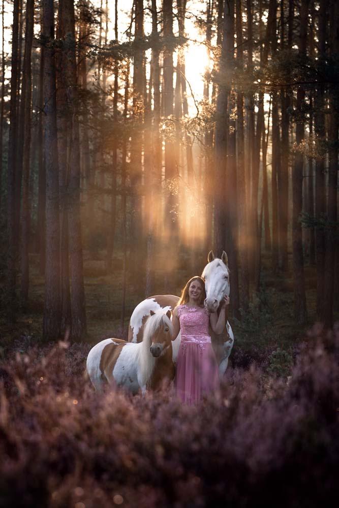 Julia & ihre Ponys beim Portfoliotag von Ann-Christin Vogler