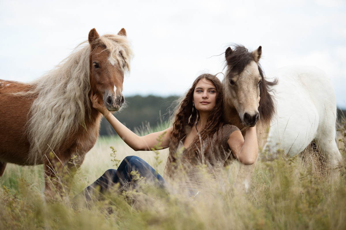 Jana Wolf & ihre Ponys