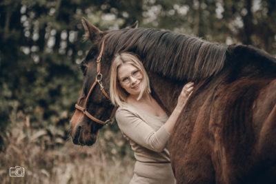 Mein Pferd Libero & ich - Foto: Julia Staib